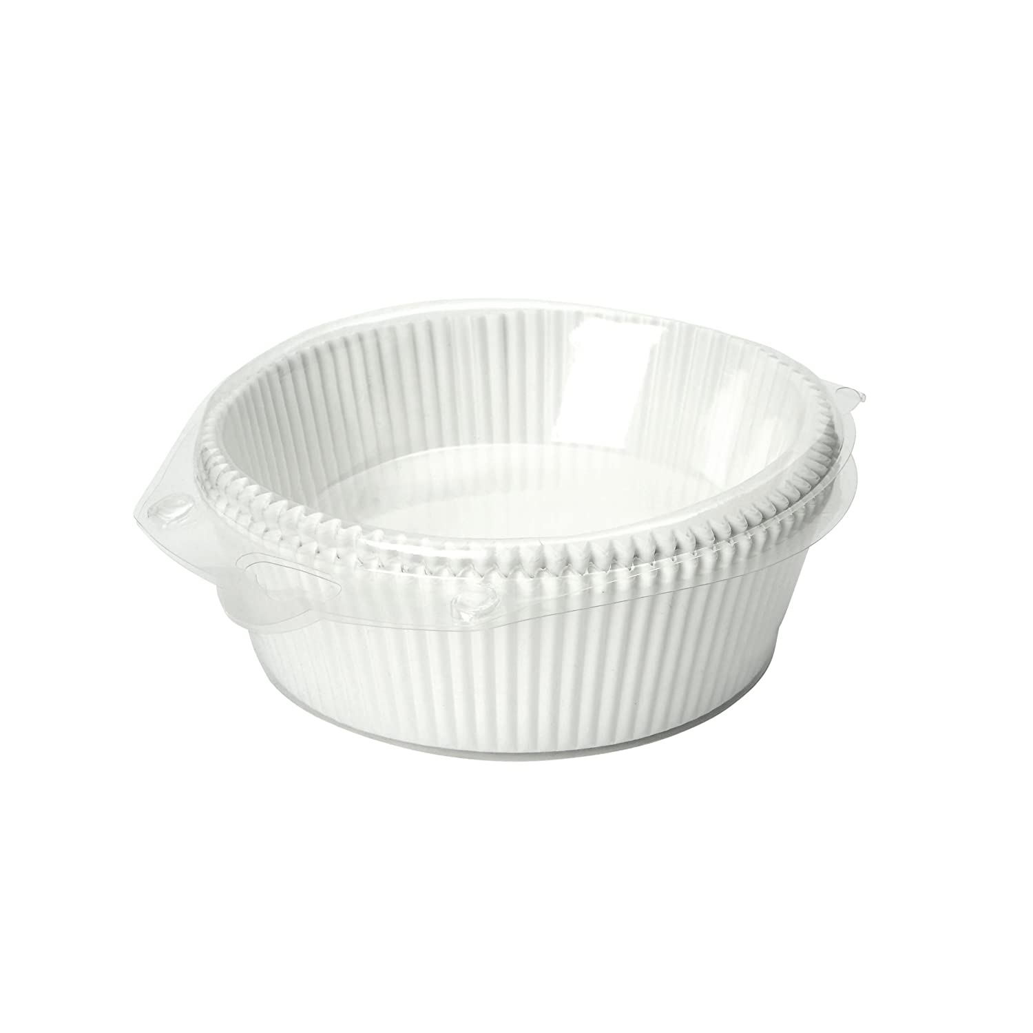 Dexam 17 x 6.5 cm Paper 18 cm Round Cake Liners Siliconised Paper, Pack of 50 17841132