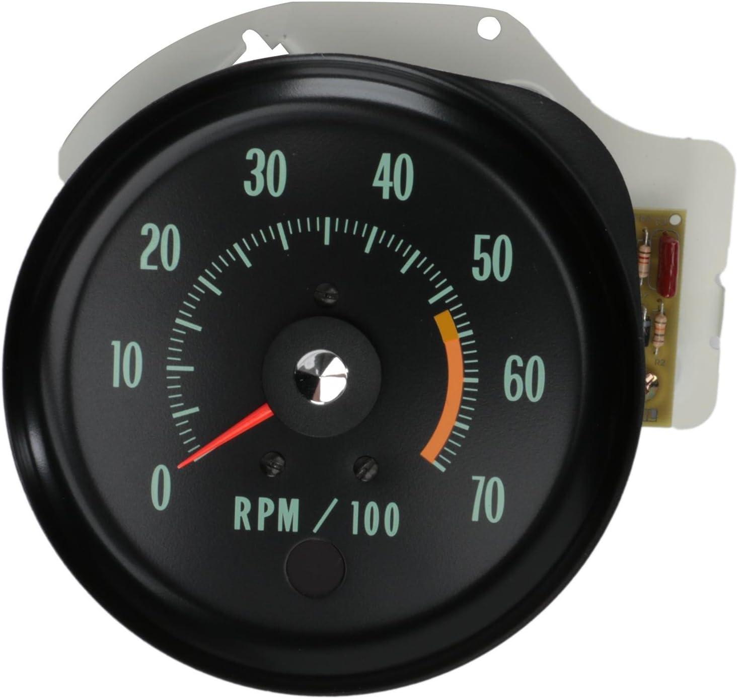 71 72 Chevelle Tachometer 5500 Redline