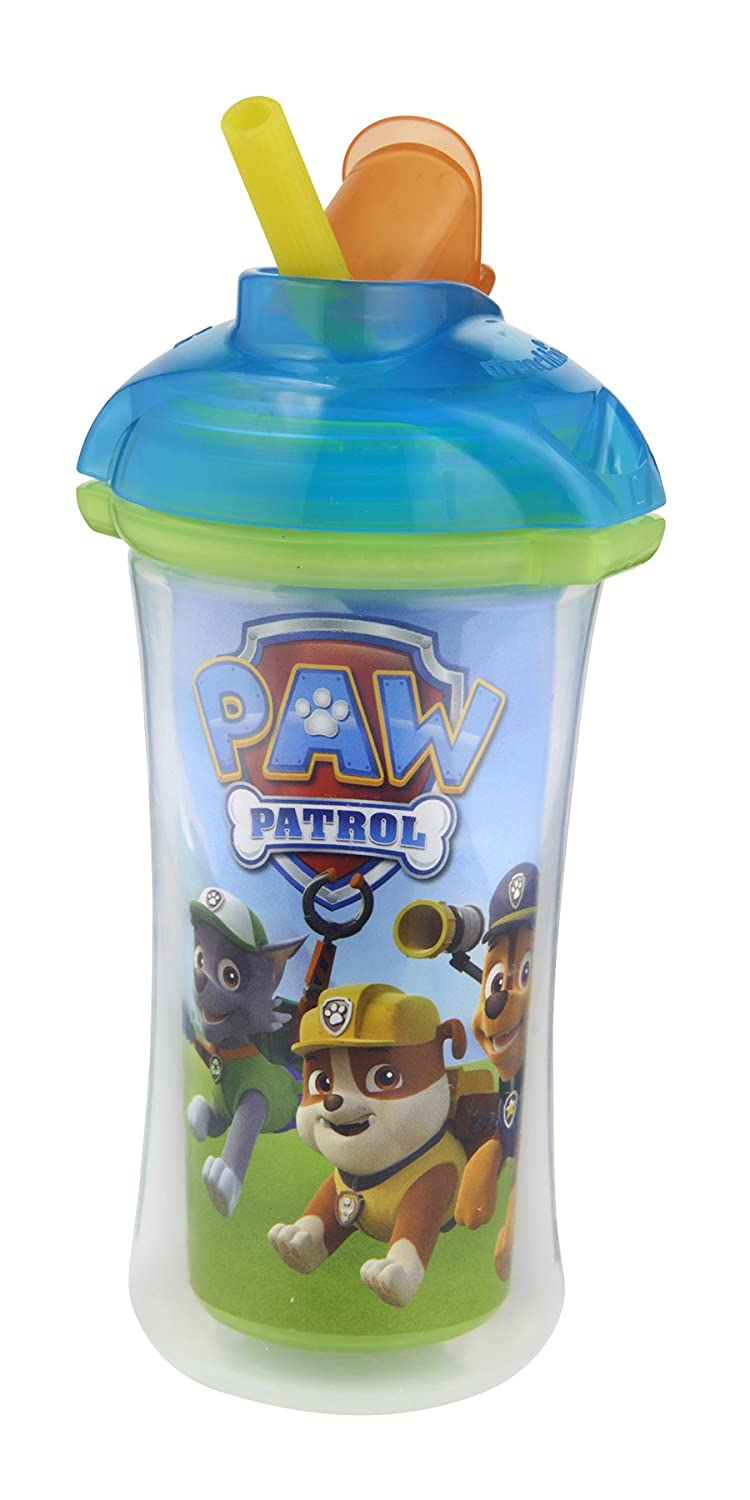 Munchkin Paw Patrol Click Lock 9-Ounce Insulated Straw Cup Blue - Assorted 15963
