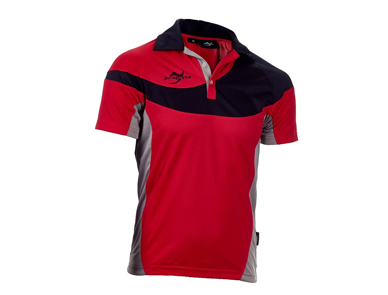 Ju-Sports Herren Teamwear Element C1 Polo Rot