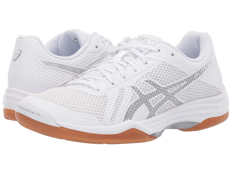 【おしゃれ】 [アシックス] レディースランニングシューズスニーカー靴 B Gel-Tactic - - 2 [並行輸入品] B07MN5NV54 ホワイト/シルバー 10 (26.5cm) B - Medium 10 (26.5cm) B - Medium|ホワイト/シルバー, a-plus:972d0f70 --- a0267596.xsph.ru