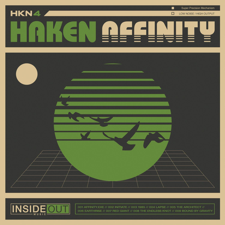 CD : Haken - Affinity (Digipack Packaging, 2 Disc)