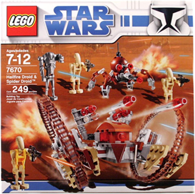 LEGO Star Wars Hail-Fire Droid & Spider Droids