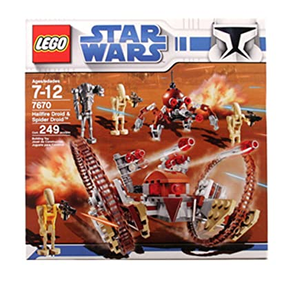 Amazoncom Lego Star Wars Hail Fire Droid Spider Droids Toys Games