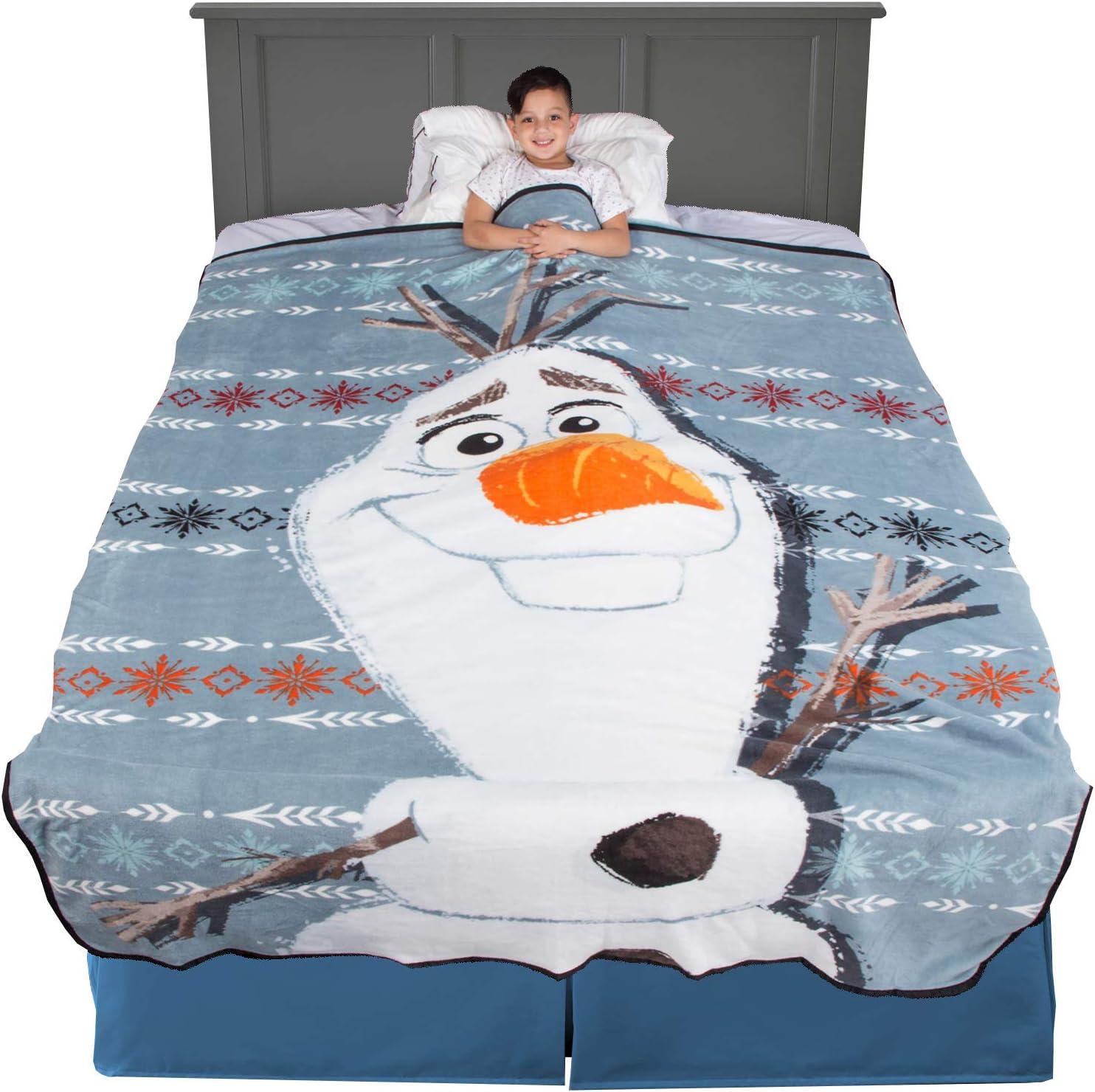Twin//Full Disney Frozen Olaf Comforter