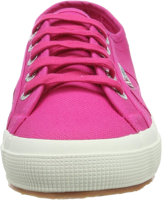 Superga 2750-cotu Classic, Chaussures de Gymnastique Mixte Adulte Rose Fuchsia Purple Multicolore V27