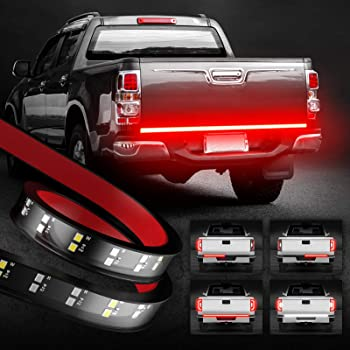 OPT7 60 Inch Tailgate LED Light Bar Double Strips