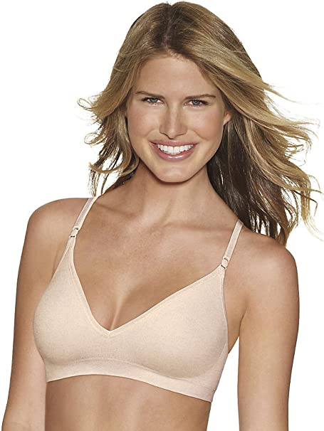 84a2e99dfe Hanes Women s Comfy Support ComfortFlex Fit Wirefree Bra at Amazon Women s  Clothing store