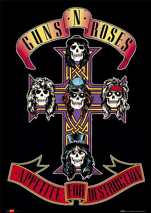 GB Eye LTD,Guns N Roses,Appetite,Maxi Poster: Amazon.es: Hogar