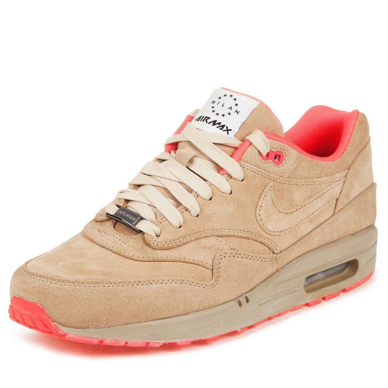best loved c4f4f bee88 Amazon.com   Nike Air Max 1 Milano QS 8 587922 226 Tan Pink   Athletic