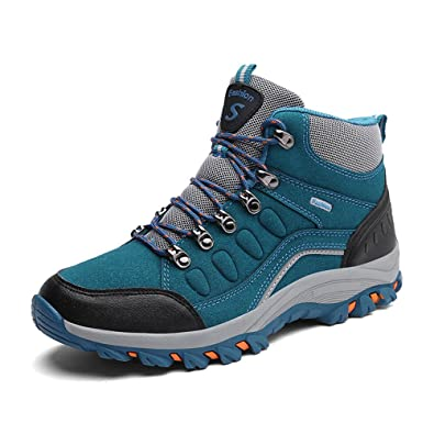 Super Lee Herren Damen Wasserdicht Trekking Boots Warm Gefüttert Wanderschuhe  Outdoor Wander Schuhe Winter Stiefel 39