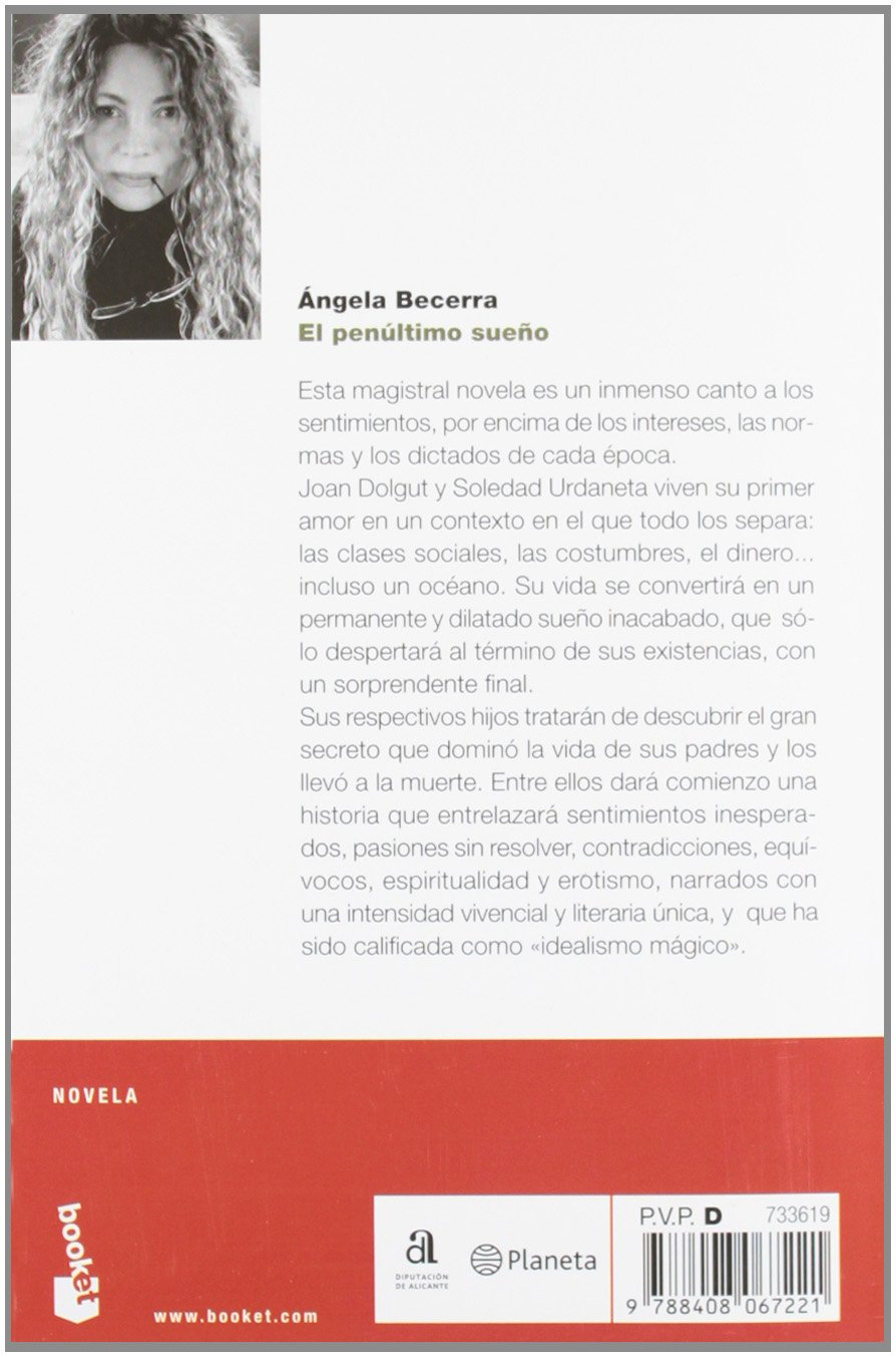 El penultimo sueno (Spanish Edition): Angela Becerra: 9788408067221: Amazon.com: Books