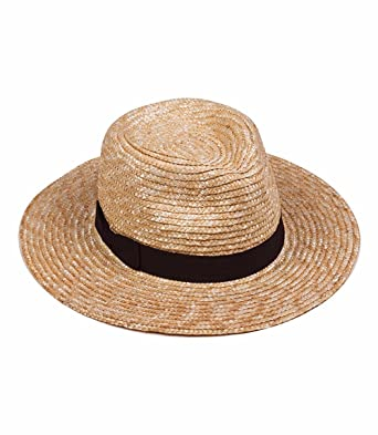 d45e7ede3ef649 Lack of Color Women's The Spencer Fedora (Natural, MD (57cm)) at Amazon  Women's Clothing store: