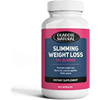 Slimming Weight Loss 100% Natural Aid and Diet Pill for Powerful Fat Burning and Appetite Suppression. Excellent for…