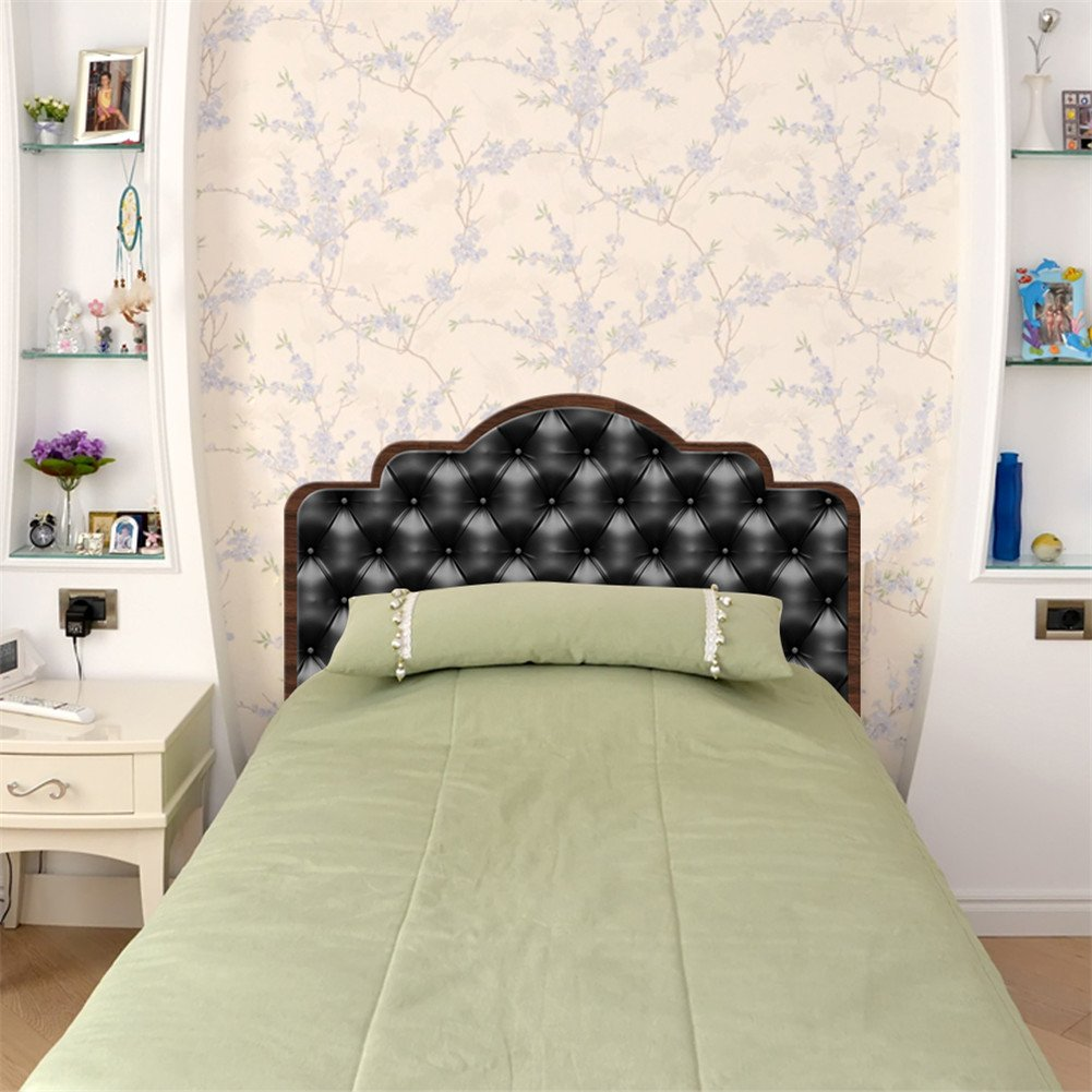 AmazingWall Luxury Effect Headboard Sticker Self Adhesive Furniture Decor Decals DIY Bedroom Decoration Stylish