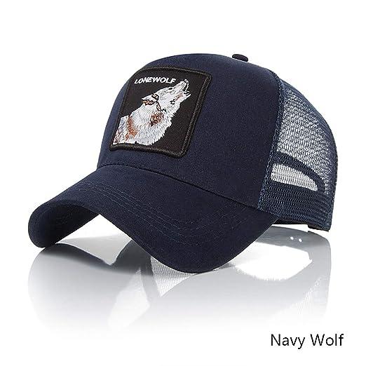 Amazon.com: Summer Mesh Baseball Cap Men Fashion Embroidery Trucker Bone Women Hats Unisex Hip Hop Gorras Snapback: Clothing