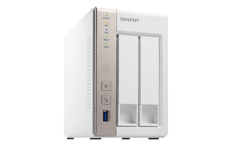 QNAP TS-231 8TB 2-Bay Turbo NAS (3,5, SATA 6Gb/s, 1,2GHz, 512MB RAM, 2x RJ-45 LAN, 3x USB 3.0, eSATA QTS 4.1) 2x 4TB: Amazon.es: Informática