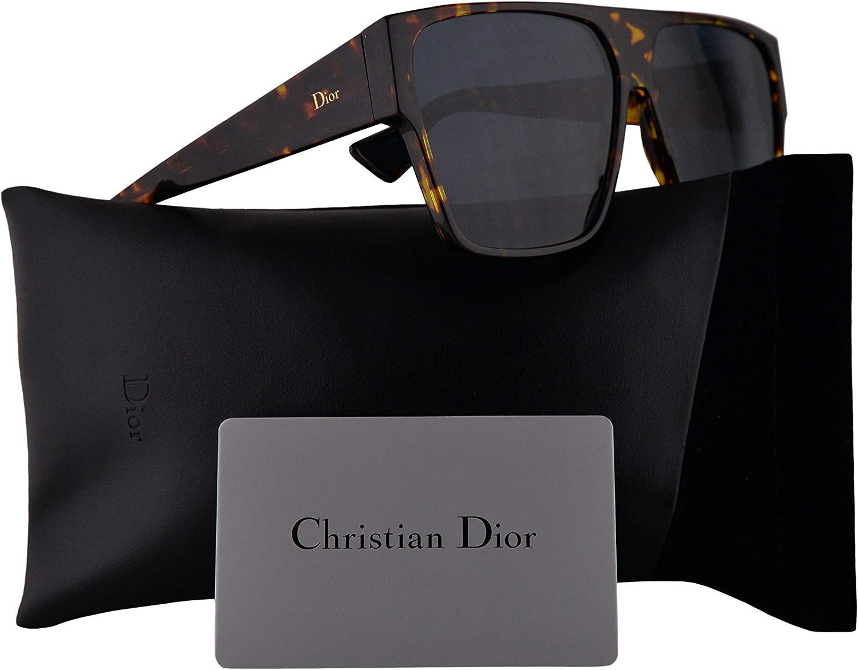 Dior Christian DiorHit gafas de sol w/Blue Mirror pendiente del oro de la lente 62mm Hit P65A9 mujer La Habana Brown amarillo Grande: Amazon.es: Ropa y accesorios