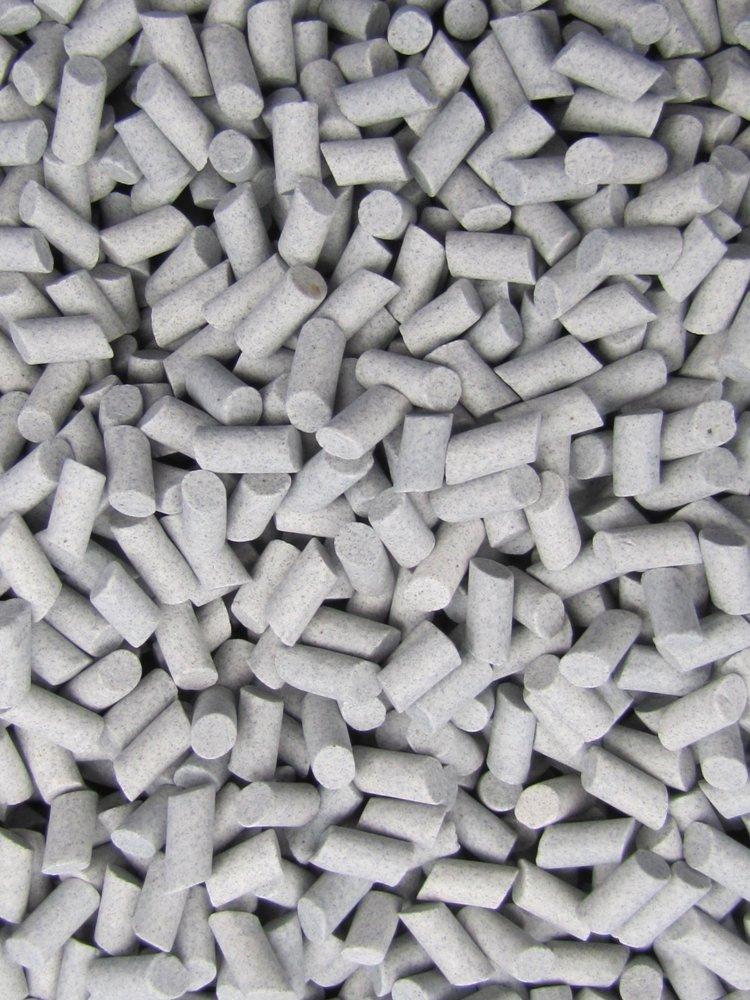 3//16 X 3//8 Abrasive Ceramic Tumbling Tumbler Tumble Media M-GENERAL PURPOSE 4 Lb