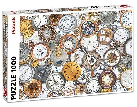 Piatnik 5680 - Puzzle de 1000 piezas de relojes del mundo