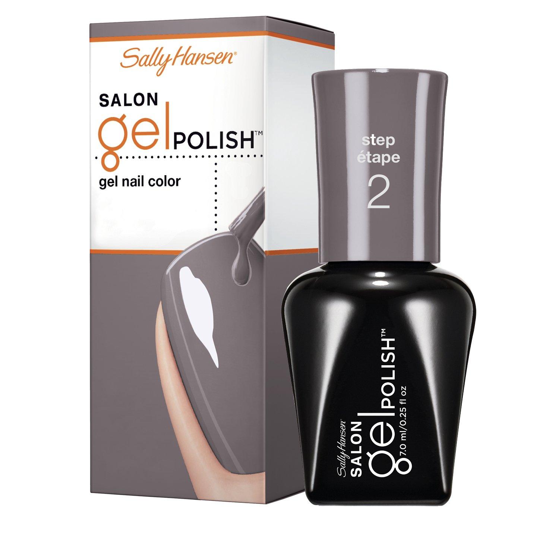 Sally Hansen Salon Pro Gel, Commander In Chic, 0.25 Fluid Ounce