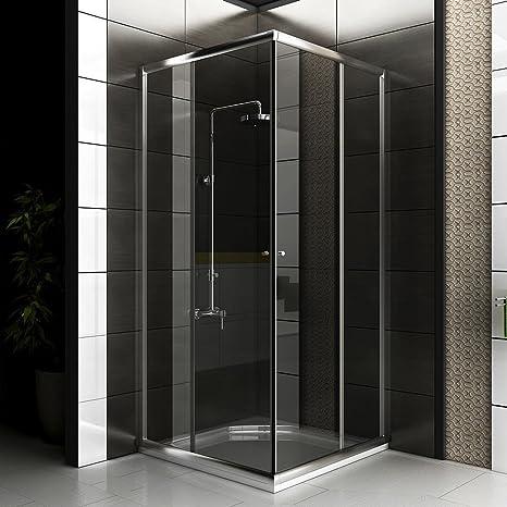 Cabina de ducha/Mampara Incluye cristal los arañazos/90 X 90 X 190 ...