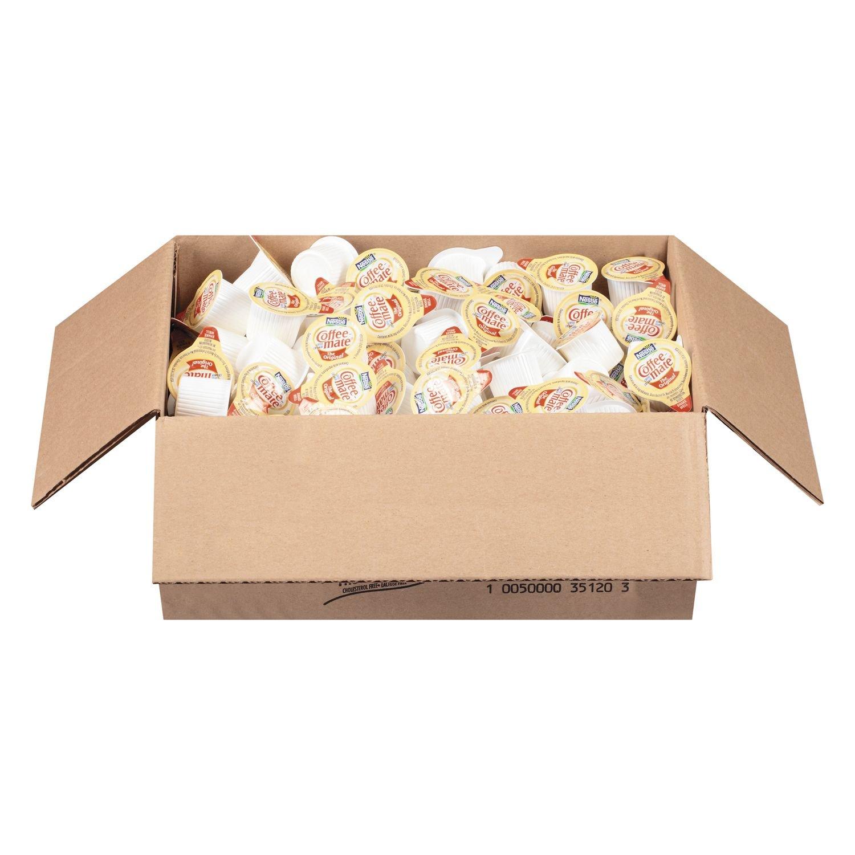 Coffee-mate 35010 Liquid Coffee Creamer, Original, 0.375 Oz Mini-Cups, 180/box, 2 Box/carton by Nestle Coffee Mate