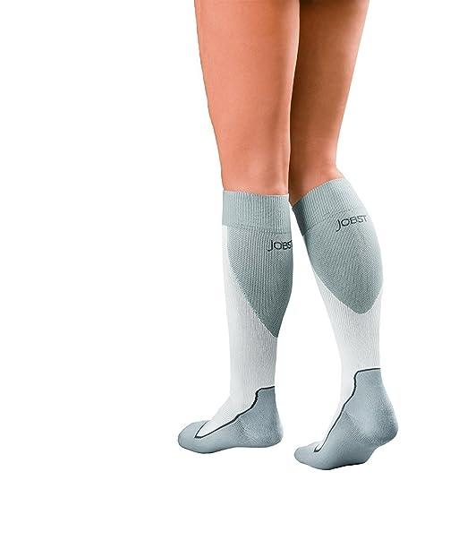 Amazon.com: JOBST Sport Knee High 15-20 mmHg Compression Socks, Black/Grey, Small: Health & Personal Care