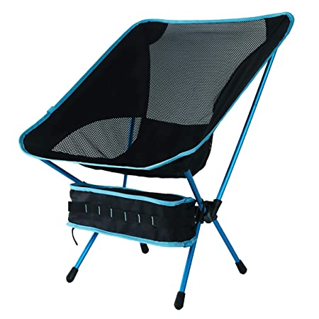 SparkleDay Folding Camping Chair Outdoor Beach Chair Lightweight Backpacking Chairs with Carry Bag Perfect for Hiking, Fishing, Picnic