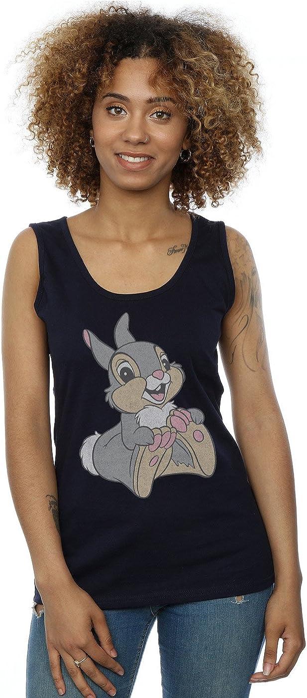 TALLA S. Disney Mujer Classic Thumper Camiseta Sin Mangas