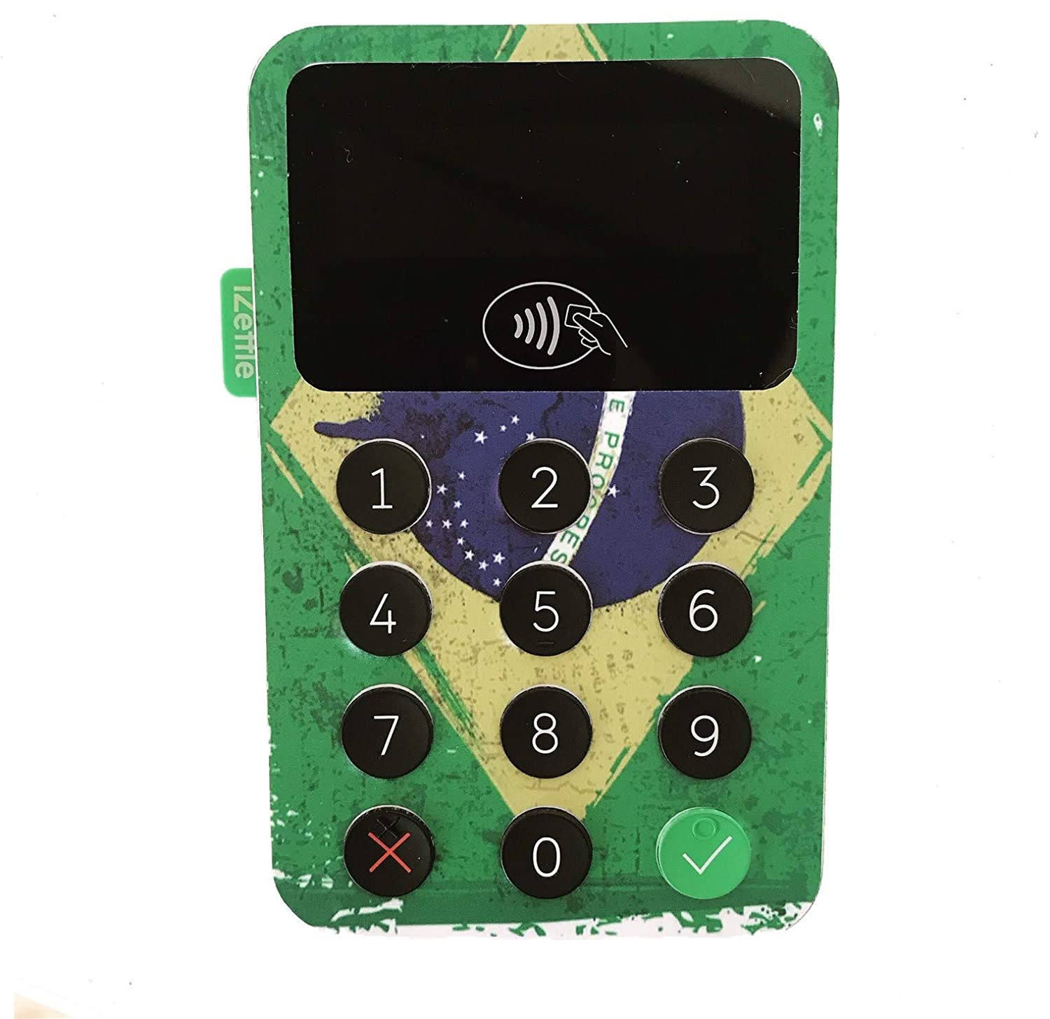 Personalise Your Card Reader Green Camo- 008 iZettle Card Reader 1 /& 2 Custom Skins