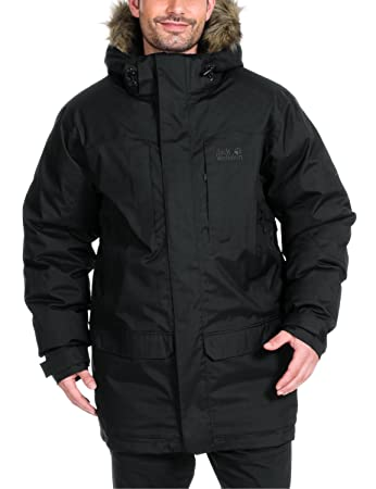 Jack wolfskin men's anchorage parka
