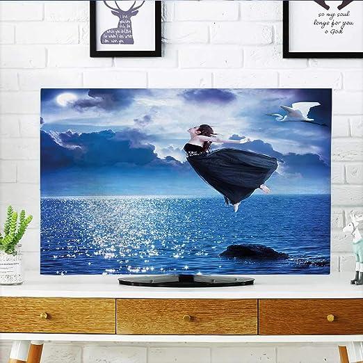 Jiahonghome Protege tu televisor Ocean Sealife Creature Fish Shell ...