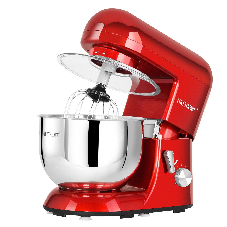 amazoncom cheftronic stand mixers sm 986 120v650w 55qt bowl 6 speed kitchen electric mixer machine kitchen dining. Interior Design Ideas. Home Design Ideas
