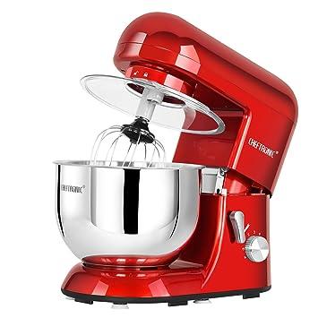 Amazon.Com: Cheftronic Stand Mixers Sm-986 120V/650W 5.5Qt Bowl 6