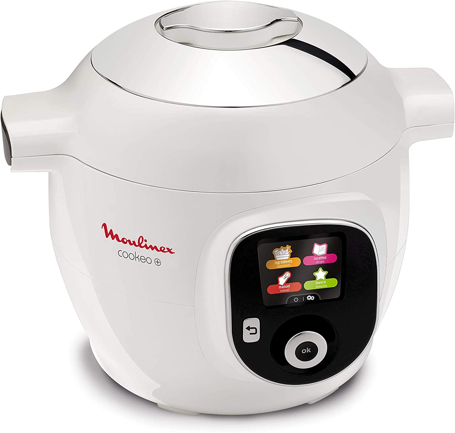 Moulinex Cookeo - Robot de cocina inteligente Cookeo +: Amazon.es ...