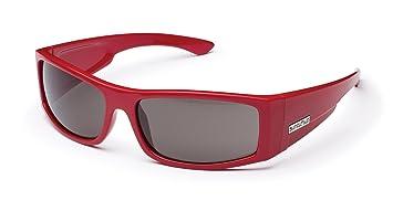 Suncloud Gafas de sol polarizadas óptica dinero, mujer, rojo