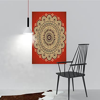c9e9e91a3e61 Image Unavailable. Image not available for. Color: Modern Abstract Print  Vintage Ornate Hypnotic ...