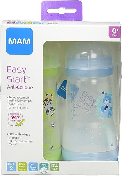 MAM Babyartikel 99964012 - Pack de 4 tetinas para biberón ...