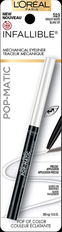 L'Oreal Paris Infallible Pop-Matic Eyeliner: White L'Oreal Paris
