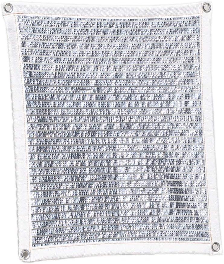 Toldos Telas Tela De Papel De Aluminio for Cortinas con Ojales, 75% Sunblock Velas De Sombra for Redes De Jardín En La Azotea/Patio/Balcón/Solárium (Size : 3mx7m(10ft×23ft)): Amazon.es: Hogar