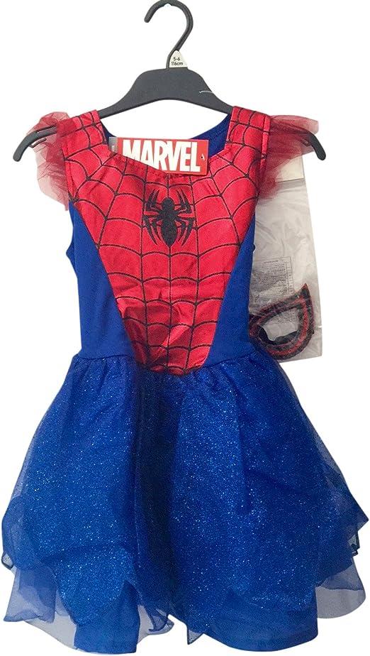 SPIDERMAN - Disfraz de Spiderman para niña: Amazon.es: Productos ...