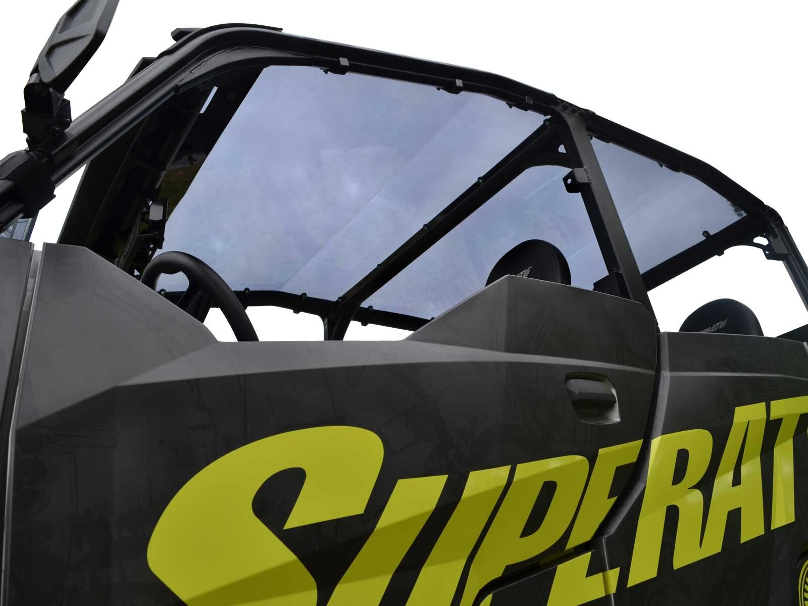 SuperATV Dark Tinted Roof for Polaris General 1000 4 Seater (2017+) - Easy to Install!