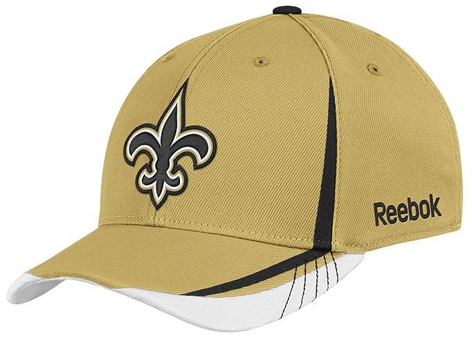 1fabf472678 Amazon.com   NFL New Orleans Saints Sideline Flex-Fit Draft Hat