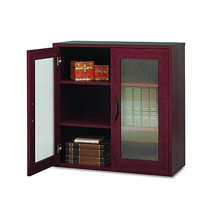 Safco Products 9442MH Apres Modular Storage Cabinet 2 Door Mahogany  sc 1 st  Amazon.com & Amazon.com: Safco Products 9442MH Apres Modular Storage Cabinet 2 ...