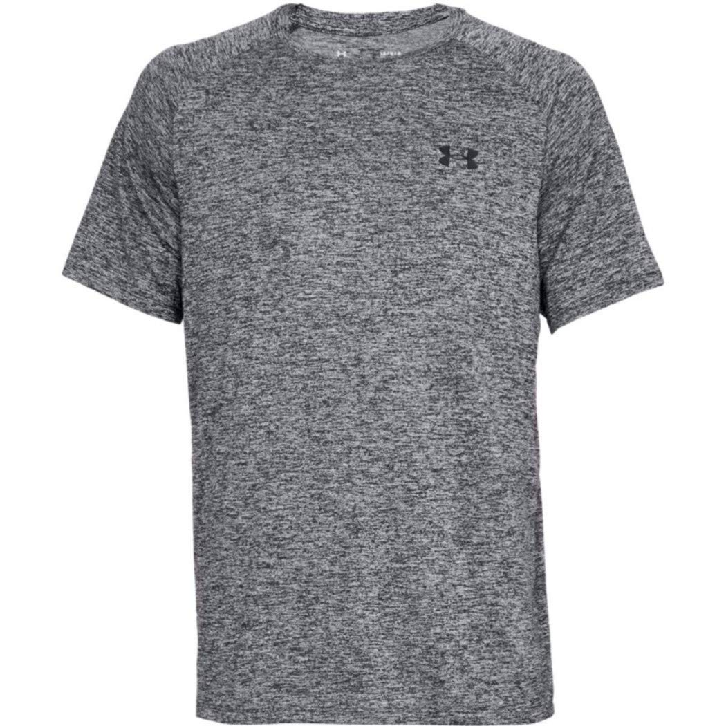 Under Armour Men's UA Tech Short Sleeve Tee 2.0, Black/Black, XS-R