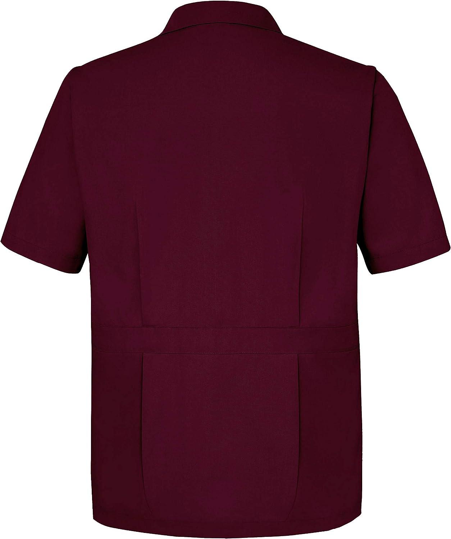 Sivvan Mens Jacket Short Sleeves Front-Zippered