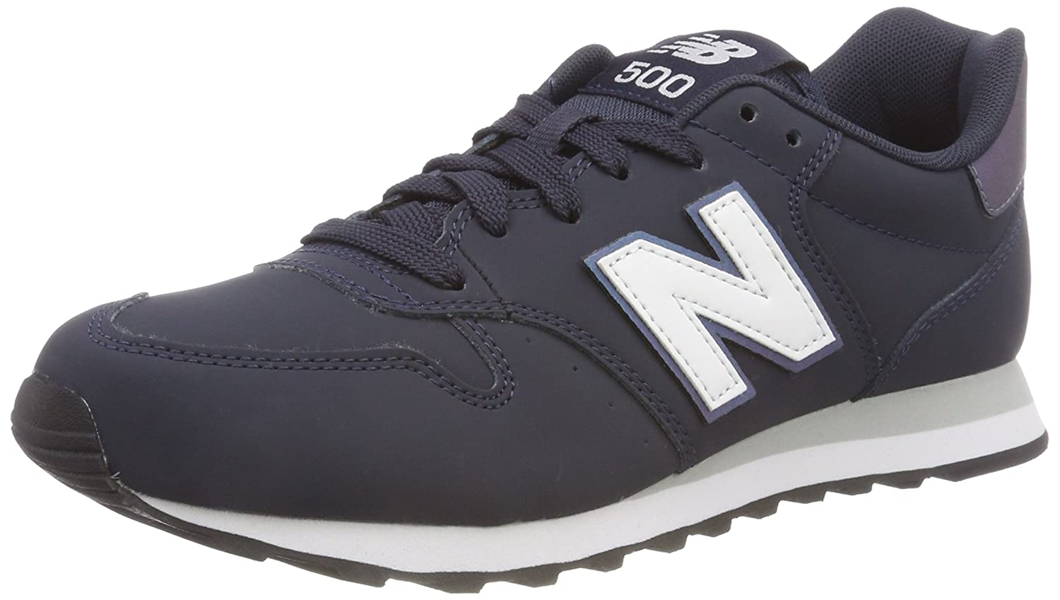 New Balance 500, Zapatillas para Mujer 38 EU|Azul (Outerspace/Irredescent/White Isb)