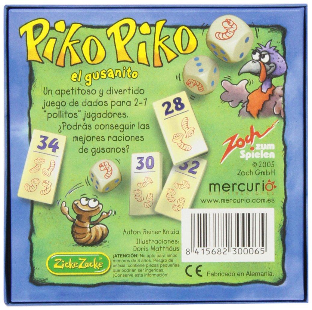 Amazon.com: Zoch – Piko Piko El Gusanito, Game Table, Table ...