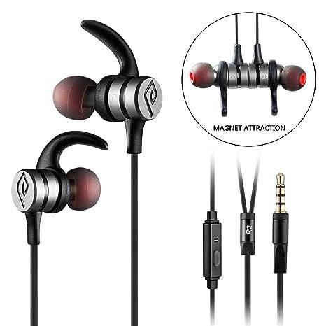 Parasom R2 Auricolare Cuffia Stereo Sport In Ear con Microfono Telecomando  Riduzione del rumore d14d5c5e0a8b